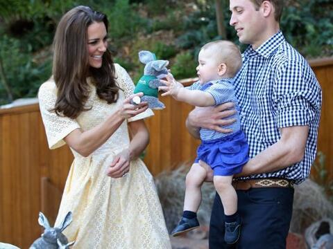 El príncipe George de Cambridge dejó en claro cuánto le gustan los anima...