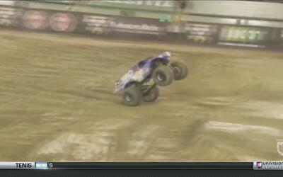 Las espectaculares piruetas en el Monsters Jam World Finals