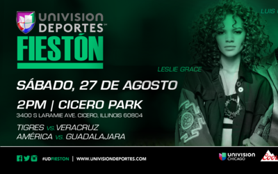 Fieston en Chicago el 27 de agosto.
