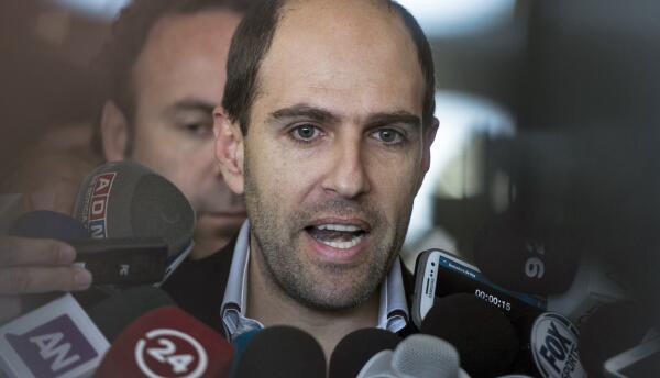 Sergio Jadue, presidente de la Federación de Fútbol de Chile