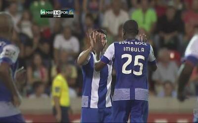 Oporto rescata empate ante Marítimo con gol de Héctor Herrera
