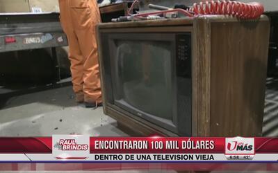 Olvidó 100 mil dólares en televisión