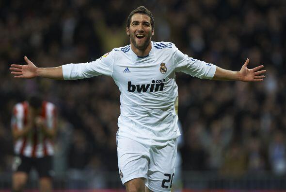 Se ganaron una mención especial al argentino Gonzalo Higuaín por sus goles.