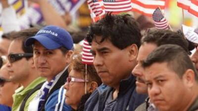 El instituto calcula que 11,4 millones de inmigrantes viven en Estados U...