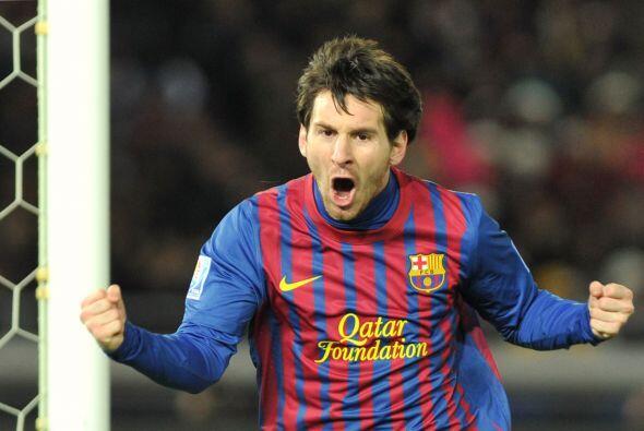 Pero el gol no fue solo de Messi. Xavi, el otro nominado a mejor jugador...