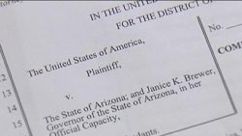 Copia de la demanda contra Arizona