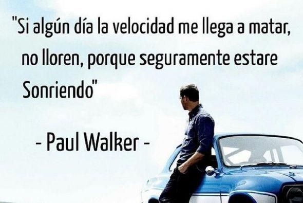 Homenajes, mensajes y muchas fotos del actor Paul Walker  han colmado la...