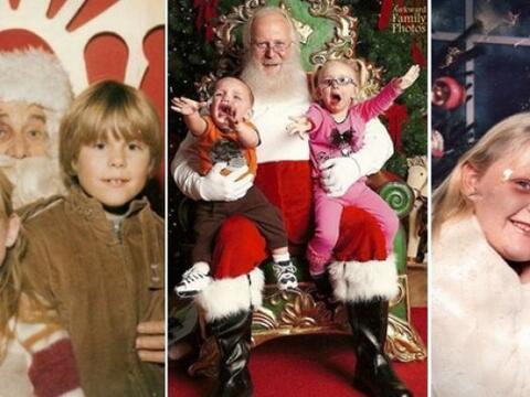 Las fotos navideñas son para muchos un memorable recuerdo, mientr...