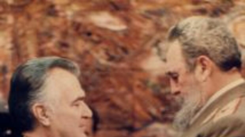 El ex presidente mexicano Miguel De la Madrid, en una imagen de archivo...