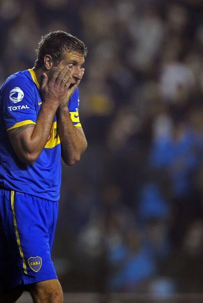 ´Qué me pasa, por favor´. Martín Palermo sigue sin anotar para Boca. Lle...