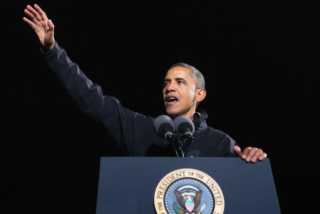 El presidente de Estados Unidos reconoció que tiene preparado un discurs...
