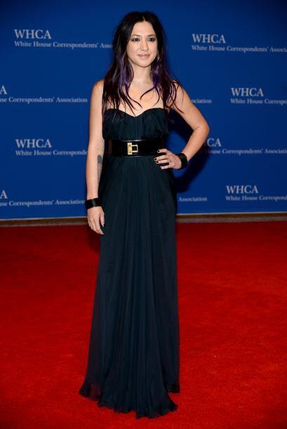 La cantante Michelle Branch. ¡Hace mucho que no sabíamos de...