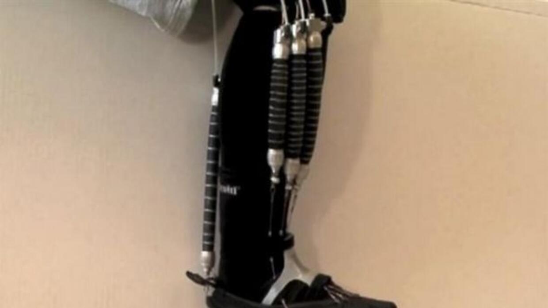 Eta media robótica ayudará a pacientes en rehabilitación.