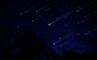 La lluvia de estrellas que caerá