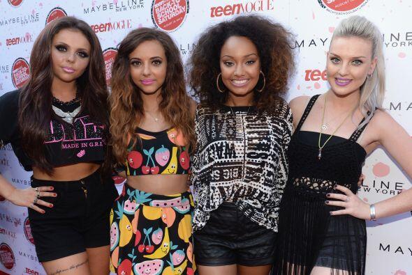 En vez de llamarse 'Little Mix' las integrantes deberían de cambiarse el...