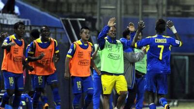 Con la victoria de los ecuatorianos aseguraron su pase al Mundial sub 17