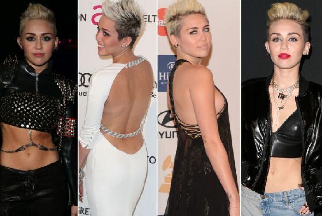 Las prendas conservadoras y femeninas que solía usar, ya no forman parte...