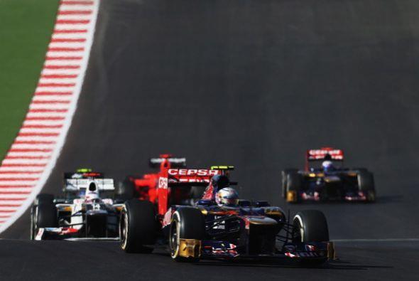 El británico Lewis Hamilton (McLaren) ganó el Gran Premio de Estados Uni...