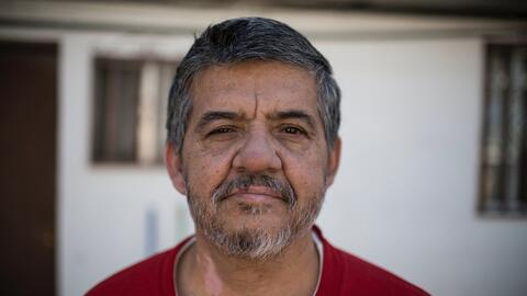 Germán Jiménez, un mexicano de 57 años que fue deportado el viernes 10 d...