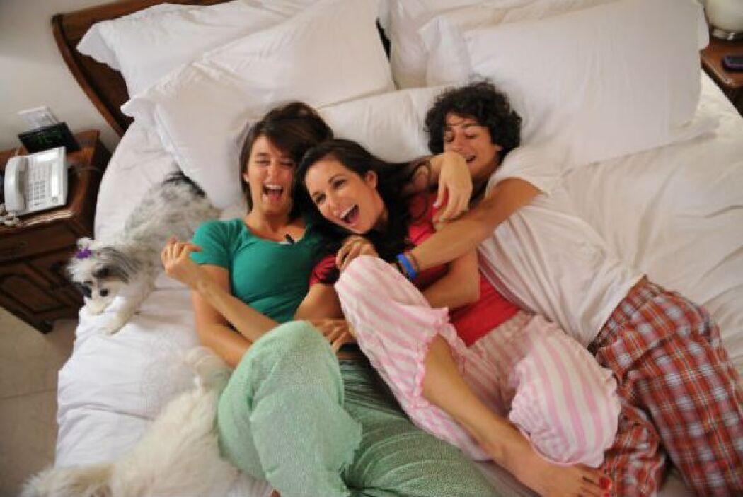 La hija mayor, Andrea es psicóloga. Giselle nos confesó que si no hubies...