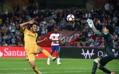 El Granada perdió 0-2 ante Málaga.