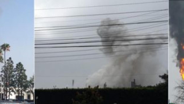Explosión de Exxon Mobile en Torrance, alertó a vencinos de la zona dura...