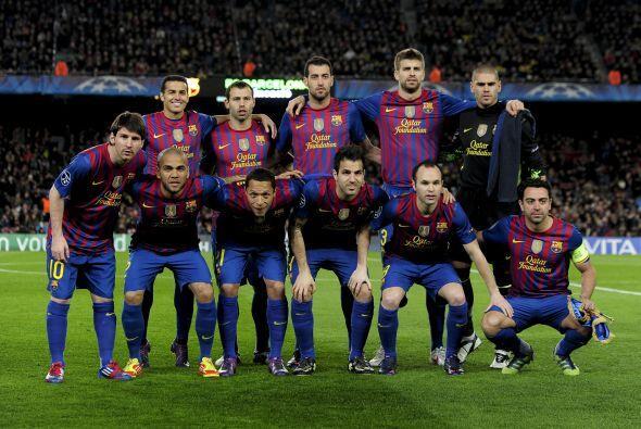 El Barcelona llega a los cuartos de final para enfrentarl AC Milan en un...