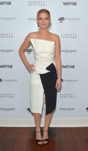Este 'mini dress' que la actriz protagonista de 'The Hunger Games: Cathc...