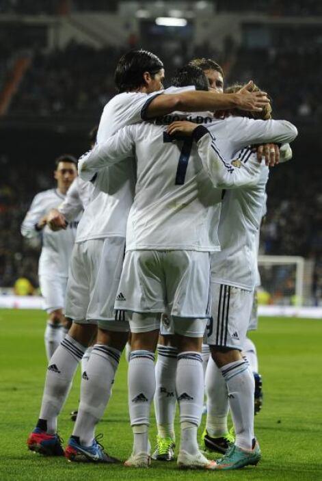 Cristiano hizo el 3-0 casi al final del tiempo reglamentario para calmar...