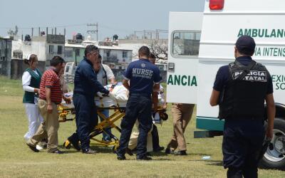 Armando Arrieta es trasladado al hospital tras ataque