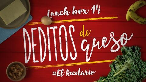 Deditos de queso + kale chips (Día 14)  - 23 ideas para lunch boxes #ElR...