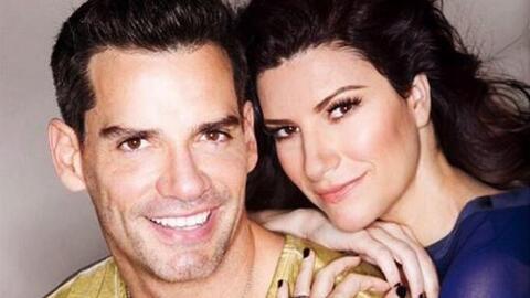 Laura Pausini y Cristián de la Fuente se pusieron muy románticos