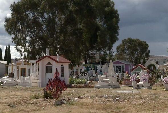 Pero sí la tumba de 'El Lazca'.