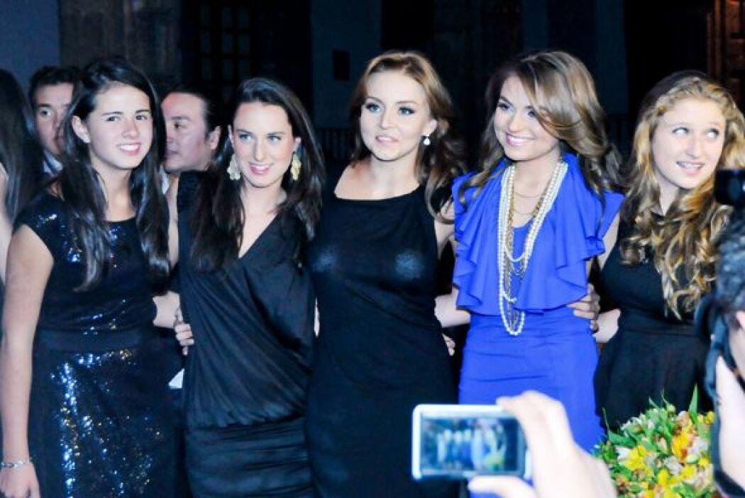 Sofía Castro, Fernanda Castro, Paulina Peña y  Nicole Peña se juntaron e...