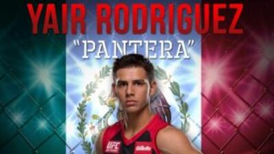 Yair 'Pantera' Rodríguez derrotó a Humberto Brown (Foto: Twitter).