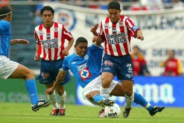 Los Celestes habían derrotado 4-1 a las Chivas en el juego de ida...