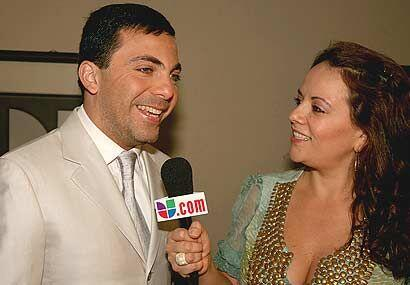 Cristian Castro visitó Sábado Gigante.