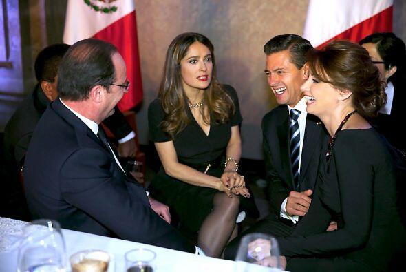Enrique Peña Nieto, el presidente de México, también estuvo en el evento.
