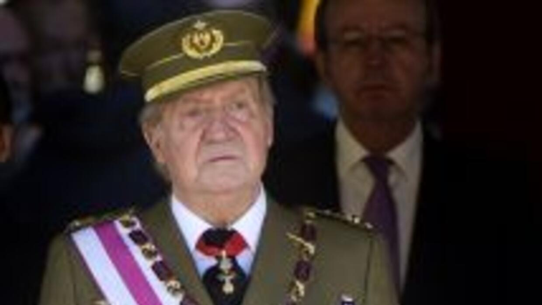 El Rey Juan Carlos I de España.