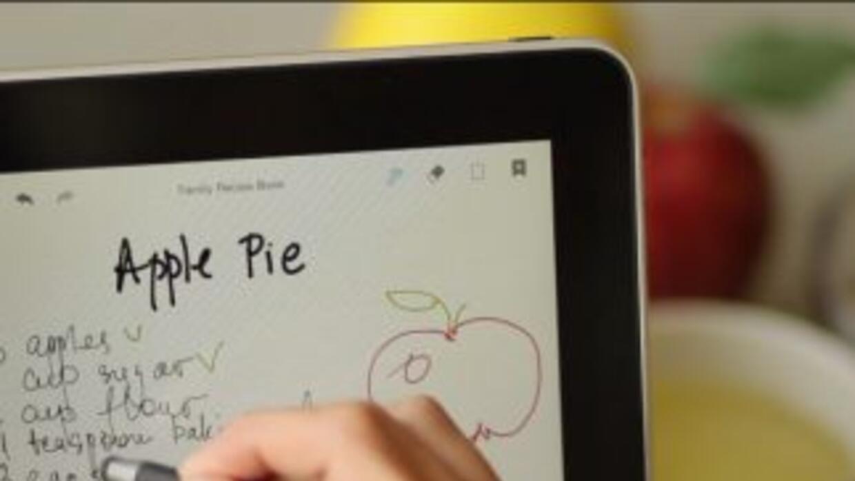 Con esta app podrás usar tu iPad como un cuaderno.