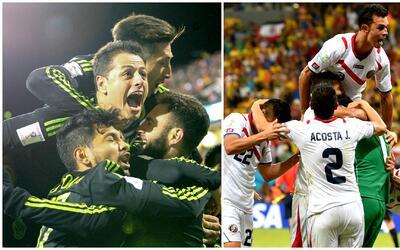 Así llegan México y Costa Rica al choque más decisivo de los últimos tie...
