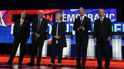 Opinión: El debate demócrata se aleja del sueño americano GettyImages-De...