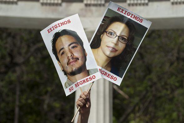 La familia del editor y periodista José Antonio Apac, desaparecido en 20...