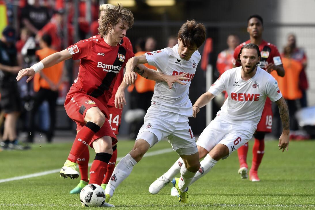 El Leverkusen empata ante el Colonia (2-2) y esquiva el ´drama´ de la última jornada
