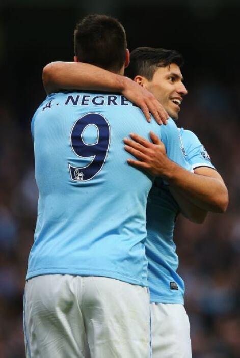 Dos goles para Agüero y cuatro en total para el City.