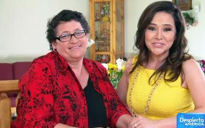 La abogada Jessica Domínguez llevó esperanza a la madre de un dreamer