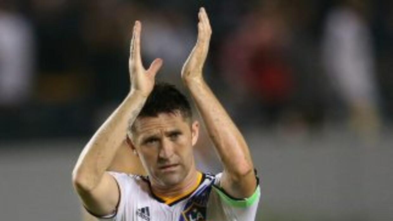 Robbie Keane, delantero de LA Galaxy celebra un gol vs Chicago Fire | 6...