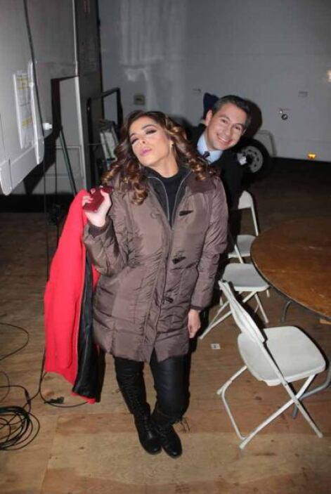 Lourdes Estefan y Alejandro Mendoza llegaron con su calor humano y profe...