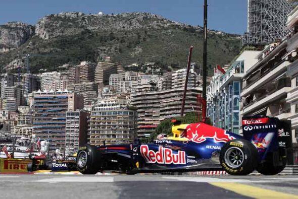 Vettel dominó a pesar de lo que pareció un error de sus me...