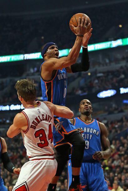 Russell Westbrook (Oklahoma City Thunder) - Westbrook ha jugado bien des...